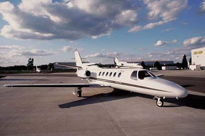 Stellar Villas - Luxury Villa Rentals -  Jet Charter - CITATION II - Exterior