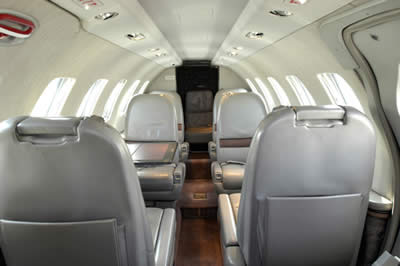 Stellar Villas - Luxury Villa Rentals -  Jet Charter - CITATION II - Interior